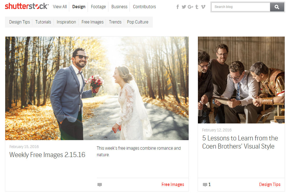 shutterstock pricing images